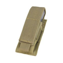 Condor Single Pistol Magazine Pouch Coyote