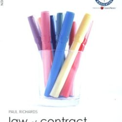Law Of Contract: Uk Edition (Foundation Studies In Law)
