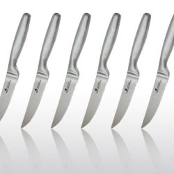 Zhen High Carbon Stainless Steel 6-Piece Steak Knife Set