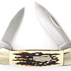 Schrade Uncle Henry Canoe Pocket Knife, Large