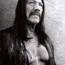 Danny Trejo Machete Signed 11X14 Photo Autographed #W24433 - Psa/Dna C