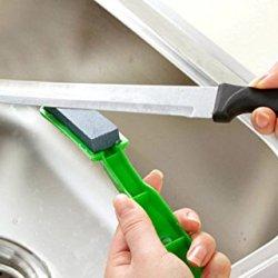2Pcs Multi-Function Diamond Sharpener Kitchen Home Sharp Fish Hooks Hand Tools Knives 2Cm X 7Cm Stone