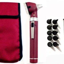Zzzrt Pro Physician 2.5V Halogen Ligh Fiber Optic Otoscope Mini Pocket Medical Ent Diagnostic Set + Free Protective Cover