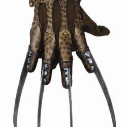 Nightmare On Elm Street Deluxe Freddy Krueger Glove, Gray, One Size