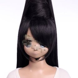 Cosplay Black Wig Bayonetta Long Straight Cute Costume Wig