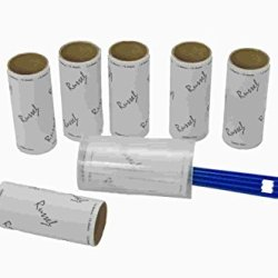 Lint Roller With 6 Spare Refills