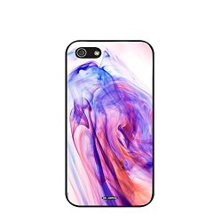Dh-Hoping (Tm) Cell Phone Case For Personalizatied Custom Picture Iphone 5C High Impackt Combo Soft Silicon Rubber Hybrid Hard Pc & Metal Aluminum Protective Case With Customizatied Paint Retro Style Splash-Ink Luxurious Pattern (Dye-04)