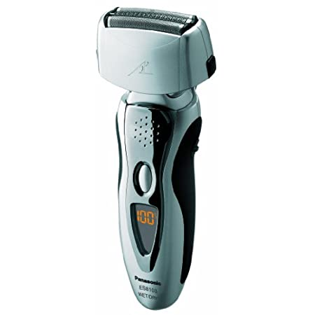 Panasonic ES8103S Pro-Curve Wet/Dry Rechargeable Linear Pivot-Action Shaving System, Silver  Panasonic's fully loaded men's wet/dry washable electric shavers are packed with smart, innovative features that deliver a remarkably close and comfortable s...