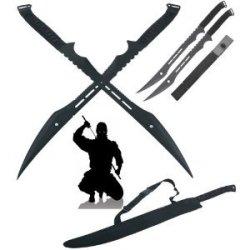 Ace Martial Arts Supply Double Ninja Swords With Sheath