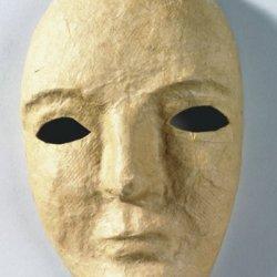 17 Pack Chenille Kraft Company Paper Mache Mask