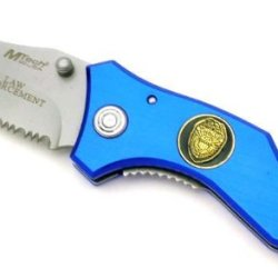 New M-Tech Law Enforcement Rescue Knife Mt349Bl