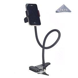 TETC-cell-phone-clip-holder-stand-gooseneck-clip-clamp-mount-on-cardesktable-for-iphone-55S64ssamsung-galaxyHTC-nokialgblackberry-holder-ectTwo-colors-available-Black-X1