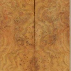 """Grey Box Burl Eye (2 Pc) Knife/Razor Scale 3/16""""X1 1/2""""X6"""" 801"""