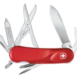 Wenger 16967 Swiss Army Evolution 16 Pocket Knife, Red