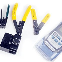 Optical Fiber Cleaver Tool With Tl-37 Fiber Optic Cleaver Optical Power Meter Ftth Assembly Kits