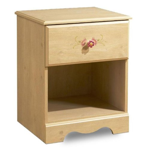 Image of South Shore 3272-062 Lily Rose Night Table Kids Nightstand, (3272-062)