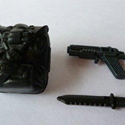 """G.I. Joe 2002 Dart (V2) Backpack, Handgun & Knife For 4"""" Action Figure"""