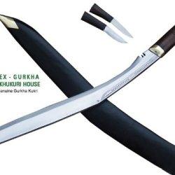 "20"" Sirupate Kukri Knife - Handmade Gurkha Hunting Khukuri Or Khukris By Ex Gurkha Khukuri House In Nepal"