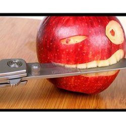 Hipster Iphone 5S Covers Carry Funny Apple Knife Pc Black For Apple Iphone 5/5S