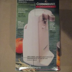 Corningware Extra Tall White Electric Can Opener