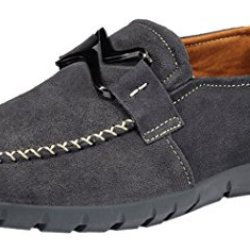 Index Men'S Casual Dull Polish Spring Daily Shoes(7.5D(M)Us,Grey)