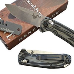 Benchmade Hunt 15031-1 North Fork Axis Folder W/ A Free Benchmade Sharpener
