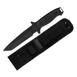 Bear Ops Cqc-110-B4-T Close Quarters Combat Knife (Black)