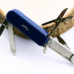 Multitool Nail Clippers Keyring Accessories, 5 Stainless Steel Folding Functions