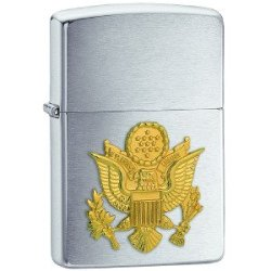 Zippo Army Emblem Pocket Lighter