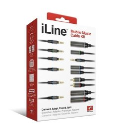 """Brand New Ik Multimedia - Iline Mobile Music Cable Kit """"Ctg: Audio