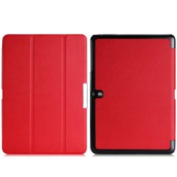 Wawo Samsung Galaxy Tab Pro 10.1 Inch Tablet Smart Cover Fold Case - Red
