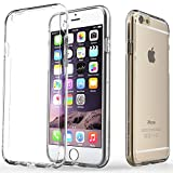 "Caseology® Apple iPhone 6 Plus (5.5"" inch) Case [Clearback Bumper] TPU Hybrid Fusion [Clear] [DIY Customization] Scratch-Resistant Clear Back Cover"