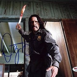 Psa/Dna Danny Trejo Machete Kills Signed Authentic 8X10 Photo - Certified Authentic