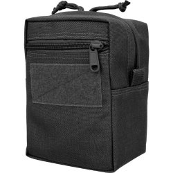Maxpedition Gear 7 X 5 X 4 Vertical Gp Pouch, Black