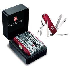 Victorinox 53509 Swiss Army Swisschamp Xavt W/ Victorinox Swiss Army Classic Sd Pocket Knife In Red