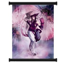 "Street Fighter X Tekken Juri Game Fabric Wall Scroll Poster (16""X22"") Inches"