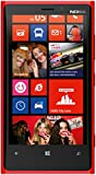 Nokia Lumia 920 Smartphone (11,4 cm (4,5 Zoll) WXGA HD IPS LCD Touchscreen, 8 Megapixel Kamera, 1,5 GHz Dual-Core-Prozessor, NFC, LTE-fähig, Windows Phone 8) gloss red