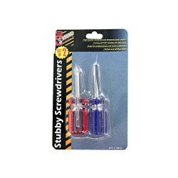 Sterling Sports 2 Pack Stubby Screwdriver Set Pack Of 24