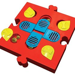 Seek A Treat Slide N'Swivel Dog Puzzle