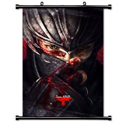 """Ninja Gaiden Videogame Fabric Wall Scroll Poster (16"""" X 23"""") Inches"""