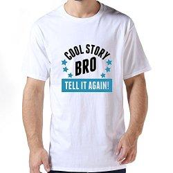 Durable Cool Story Bro Men T Shirts