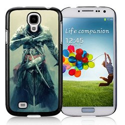 Diy Assassins Creed Revelations Desmond Miles Fan Art Equipment Knifes Samsung Galaxy S4 I9500 Black Phone Case