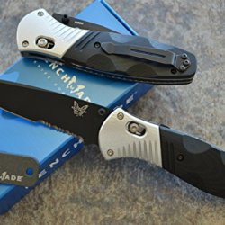 Benchmade 581Sbk Barrage Assisted Opening Knife W/ Free Benchmade Mini Sharpener