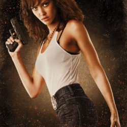 (24X36) Machete Movie Jessica Alba As Sartana Poster Print