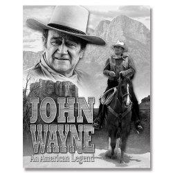 John Wayne American Legend Movie Retro Vintage Tin Sign