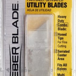 Olympia Tools Ub8000Cp Serrated Utility Knife Blades, 5-Piece