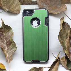 Anko Multi-Functional Metal Protective Phone Case With A Small Swiss Army Knife For Apple Iphone 5 5S (Green)