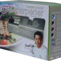 Master Grade Commercial Knife Sharpener Bundle Deal With With Martin Yan'S Knives