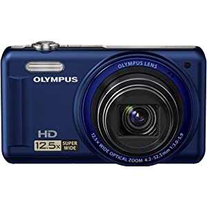 Olympus VR-320 14 MP Digital Camera with 12.5x Optical Zoom and 3