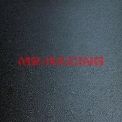 "Matte Flat Black Textured Vinyl Wrap Sticker Decal Film Sheet Pro Grade - 4""X8"" Sample"